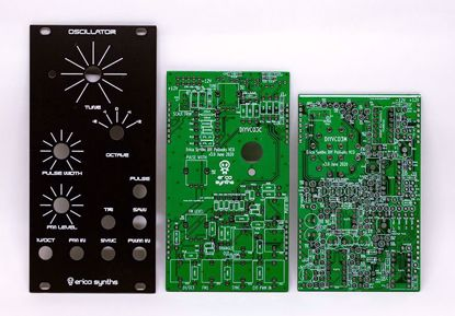 Picture of Erica Synths DIY – VCO3 (Polivoks inspired) PCBs and Panel Set