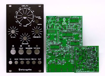 Picture of Erica Synths DIY – Delay PCBs and Panel Set